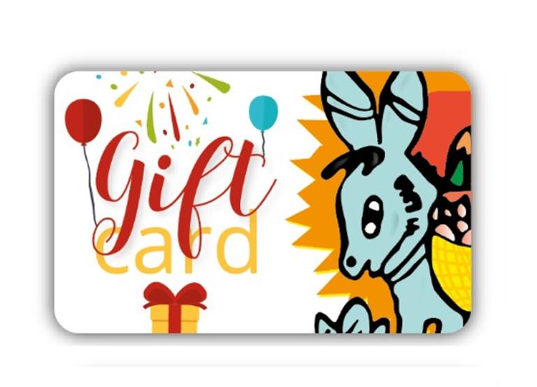 Gift Card importo personalizzabile